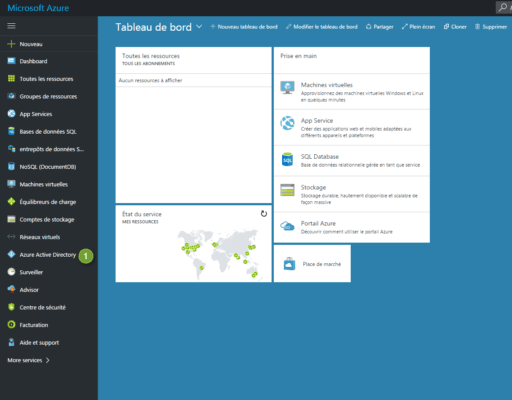 Dashboard Azure