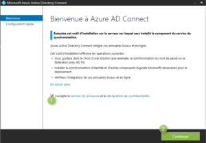 Azure AD Connect installation