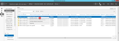 Modifier un serveur