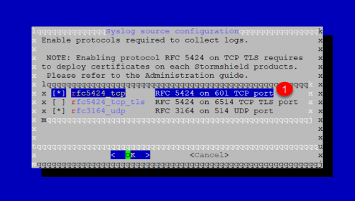 Format log