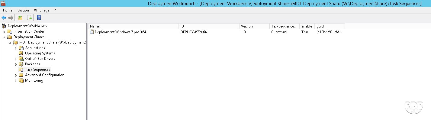 Deploy Windows with MDT and WDS - Add a task sequence - RDR-IT