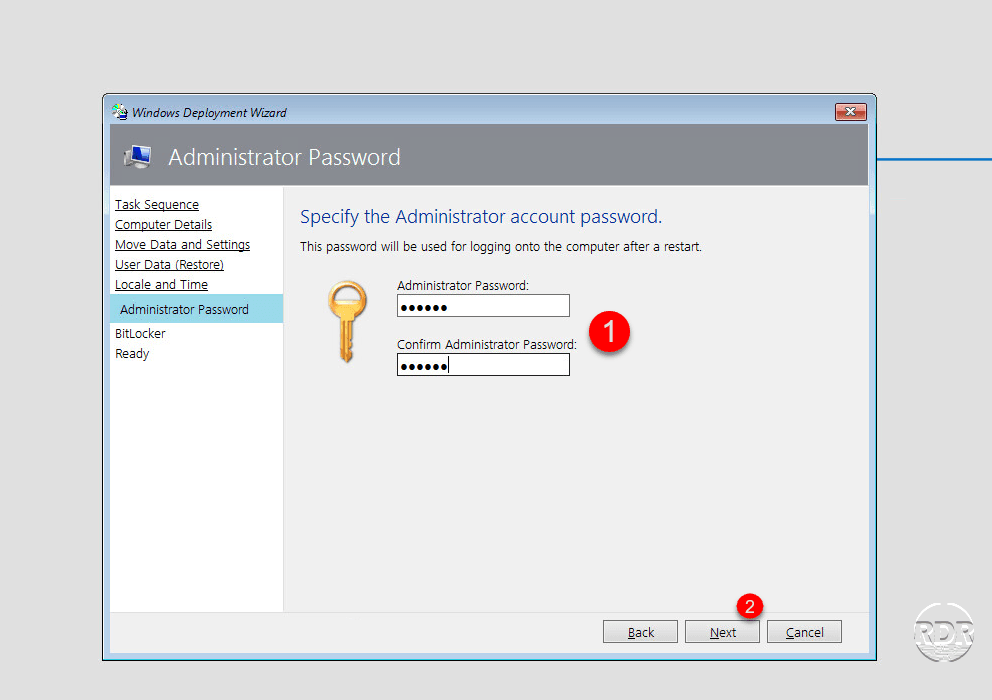 Deploy Windows with MDT and WDS - Deploy Windows - RDR-IT