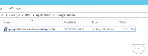 SCCM déployer app