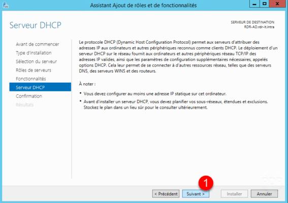 Resumen de funciones de DHCP