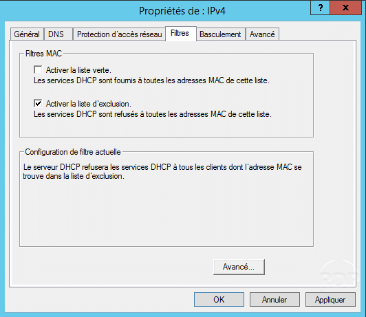 Windows Server installation and configuration of the DHCP role