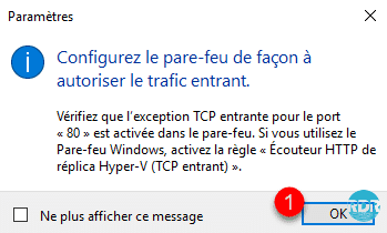 Valider le message