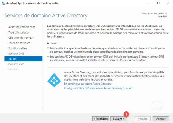 Resume role Active Directory