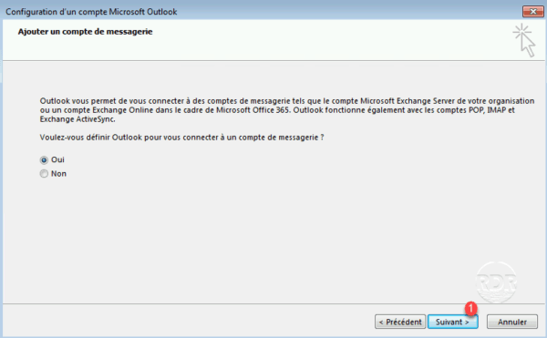 Outlook by default