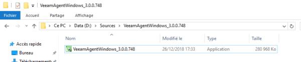 Veeam Agent V3