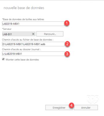 Configure DB