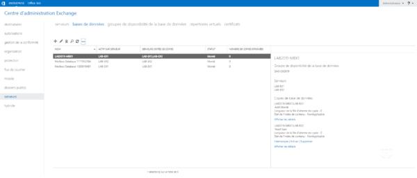Database in DAG