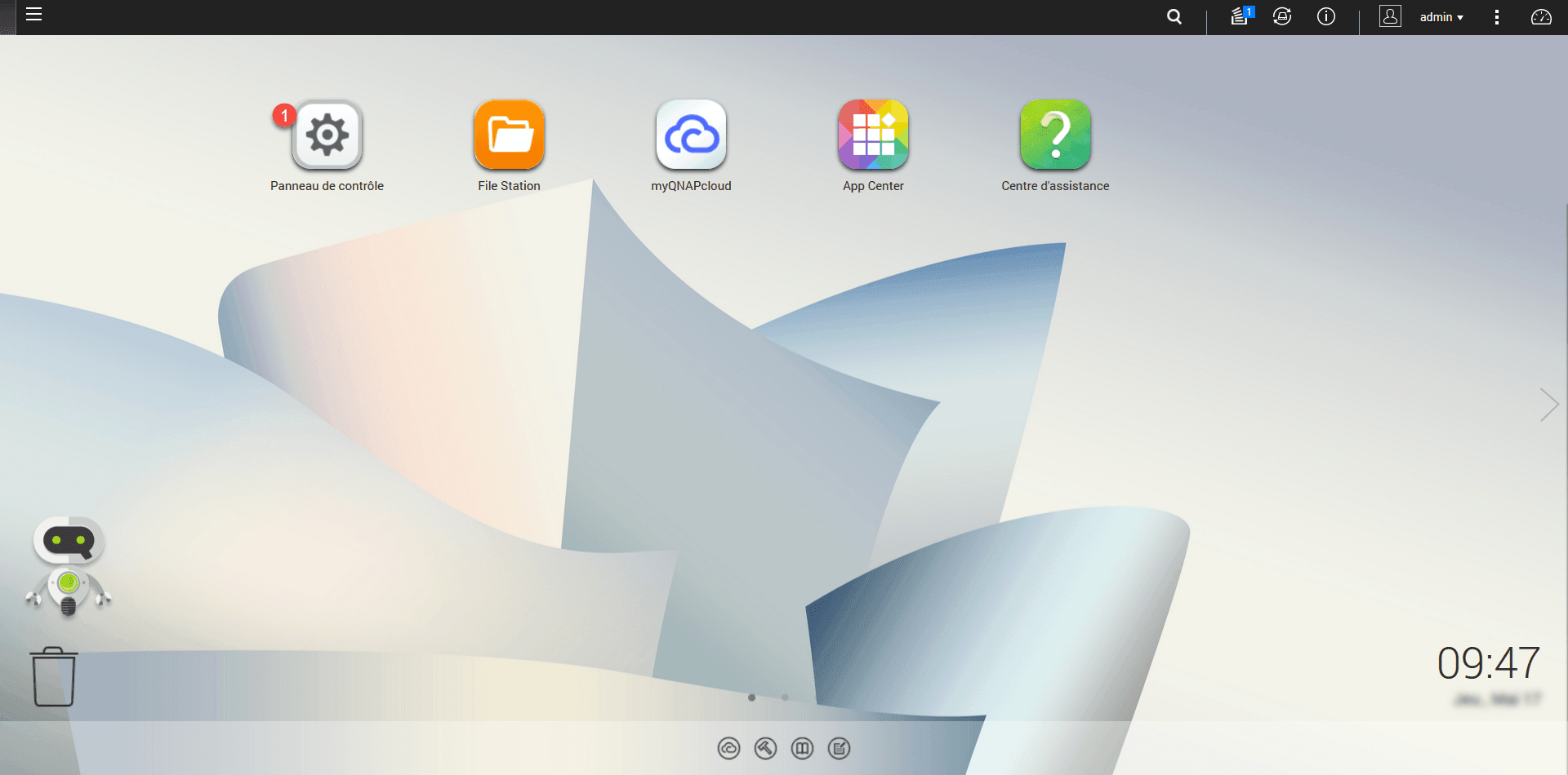 QNAP: add a shared folder - RDR-IT