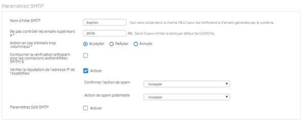 Param SMTP