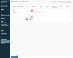 configure community