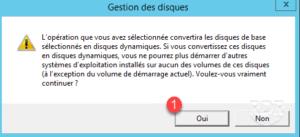 Convert disk