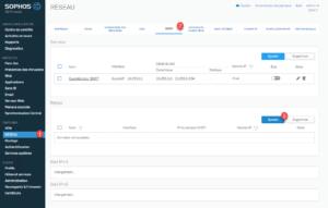 Sophos xb web interface