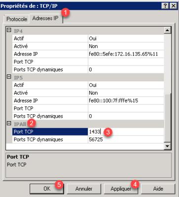 SQL Server port 1433