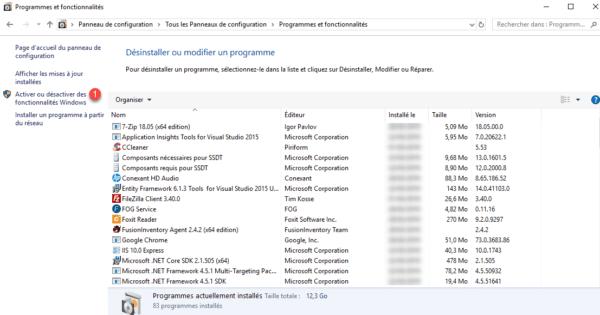 Windows 10 programs