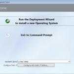 MDT : personnaliser les fenetres de l'assistant WinPE (LTI)