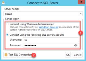 Configure logon server