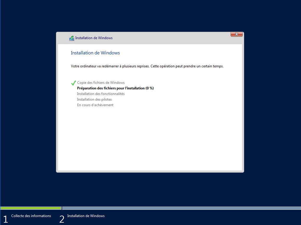 WDS: installation and configuration - Deploying Windows
