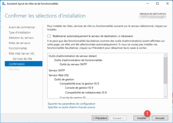 Start install SMTP Server