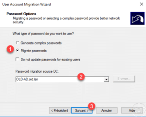 ADMT - password options