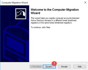 Wizard migration computer