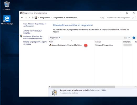 Software installed