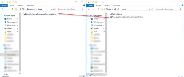 Copy file un shared network