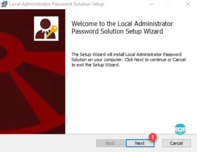 Wizard install