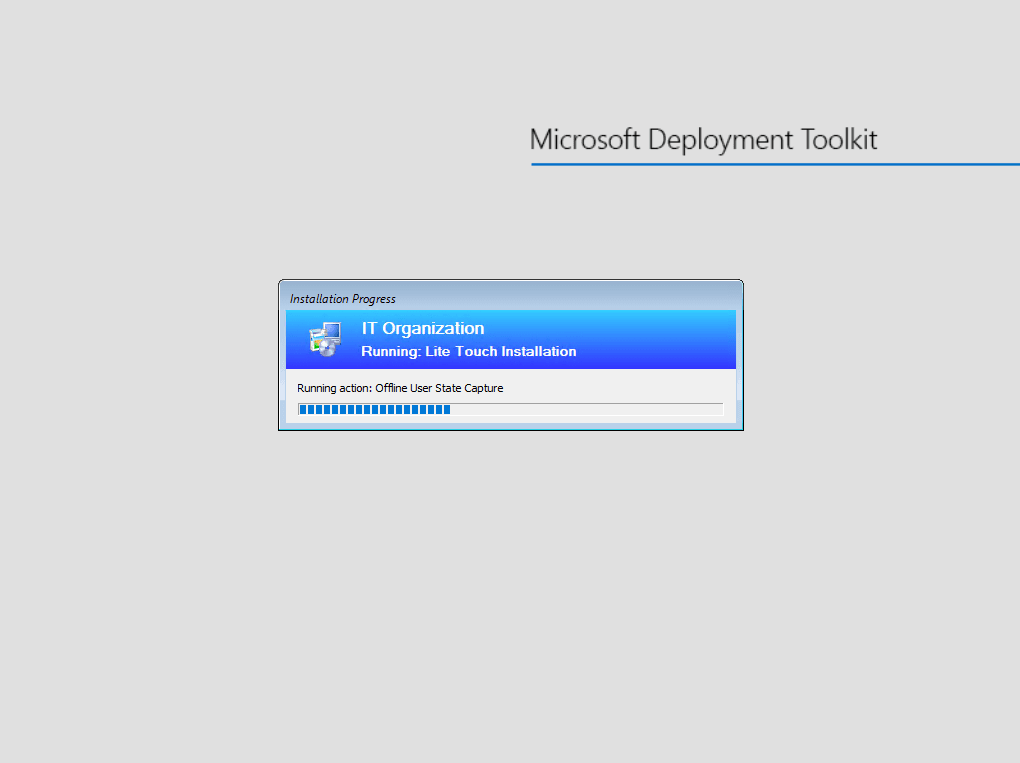 Backup during install