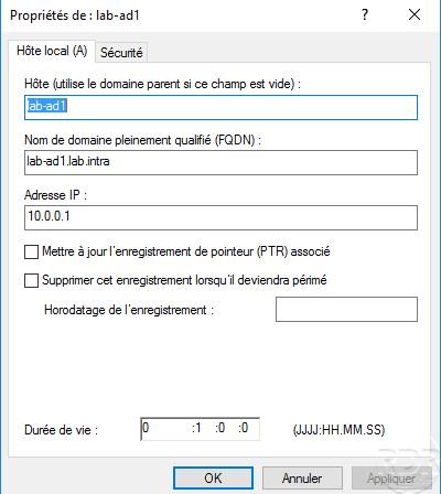 TTL in DNS Record