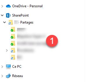 OneDrive in Explorer