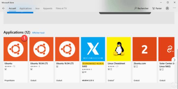 WSL choose Linux