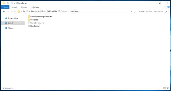 NanoServer Folder