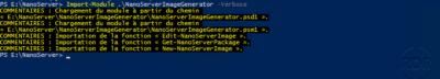 Load module Nano Server Image Generator