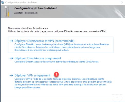 Assistant de configuration / Configuration Wizard