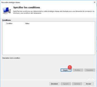 Ajouter de conditions d'accès au serveur VPN / Adding access conditions to the VPN server