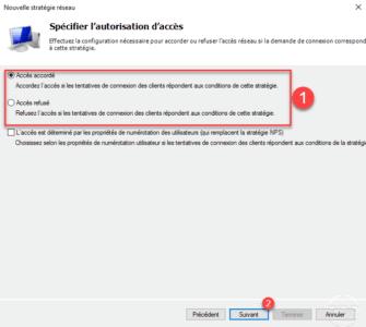 Type d'autorisation d'accès au serveur VPN / Type of access authorization to the VPN server