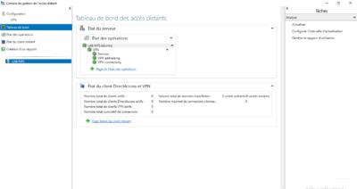 Services du serveur VPN / VPN server services