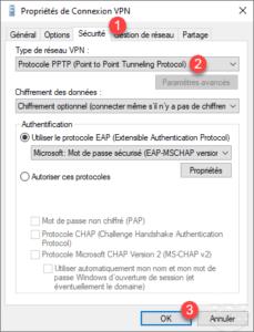 Client force PPTP
