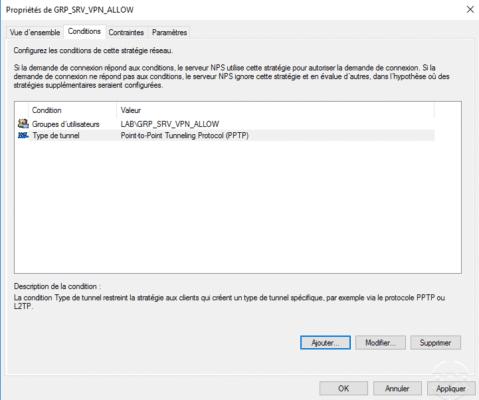 condition ajoutée au serveur VPN / condition added to the VPN server