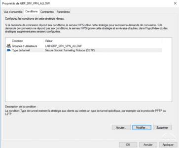 Type de serveur VPN : SSTP / VPN server type: SSTP
