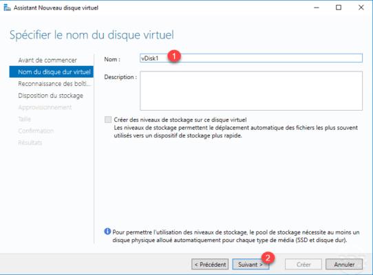 Virutal disk name