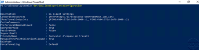 Show DirectAccess config in PowerShell