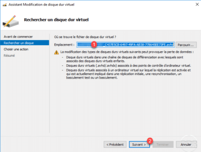 Select avhd(x) file