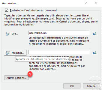 AD RMS on Word file