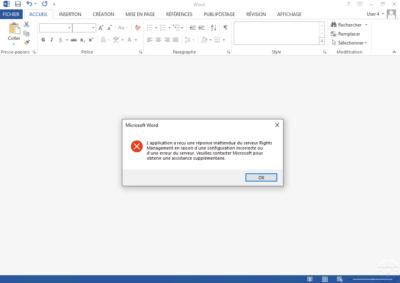 Error no email