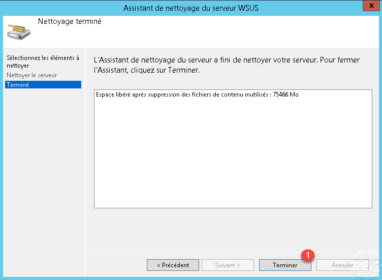 WSUS : maintenance et optimisation